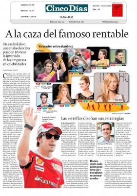 20101211 CINCO DIAS A la caza del famoso rentable.jpg