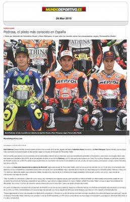 20150326 Mundo Deportivo - Pedrosa el piloto mas conocido - Personality Media.jpg